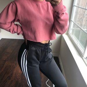 Brandy Melville Crop Sweatshirt